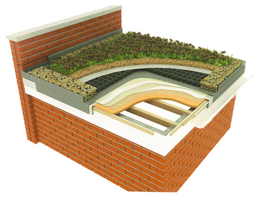 Green Roof Configuration